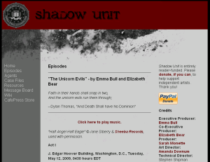 Shadow Unit Screenshot